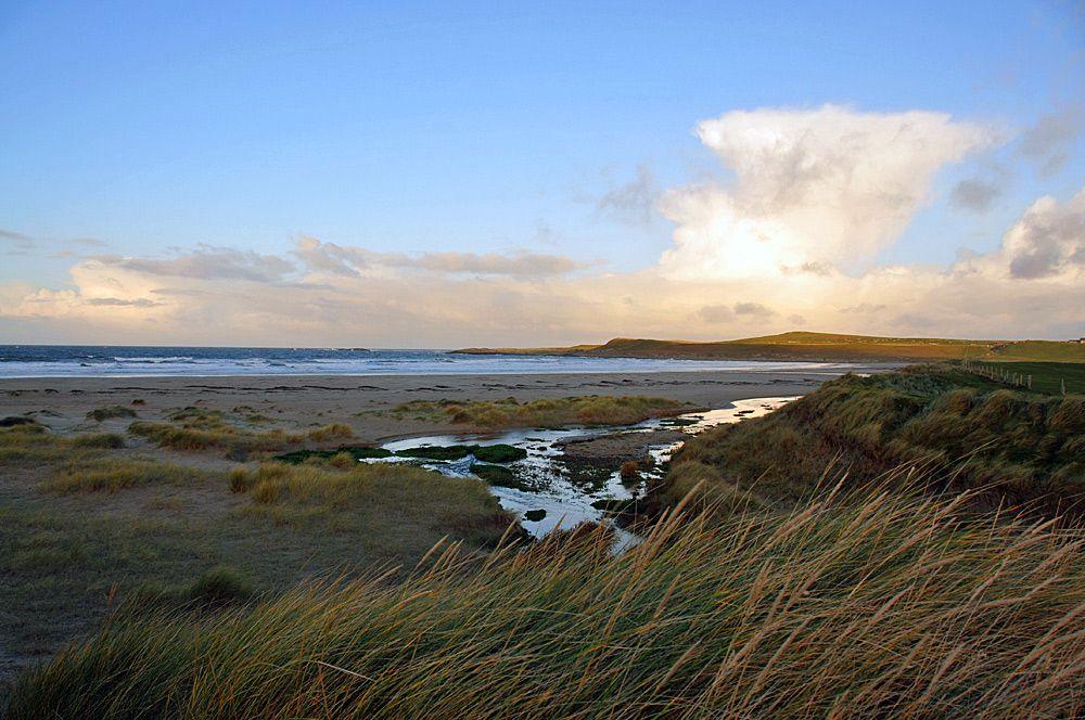 October Morning in Machir Bay, Isle of Islay