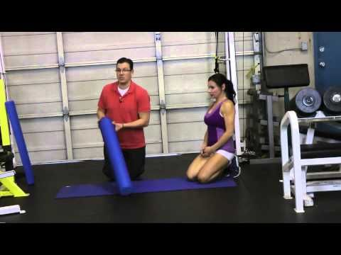 how to foam roll your sartorius muscle  exercises for