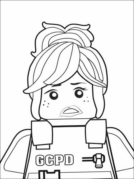 Lego Batman Coloring Pages 9 | Coloring pages for kids | Pinterest