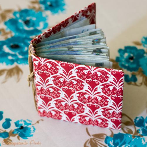 Si vas a regalar dinero haz un libro con las hojas como - Envolver regalos original ...