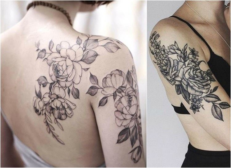 Rosenranke Tattoo: Meaning, Ideas and Templates
