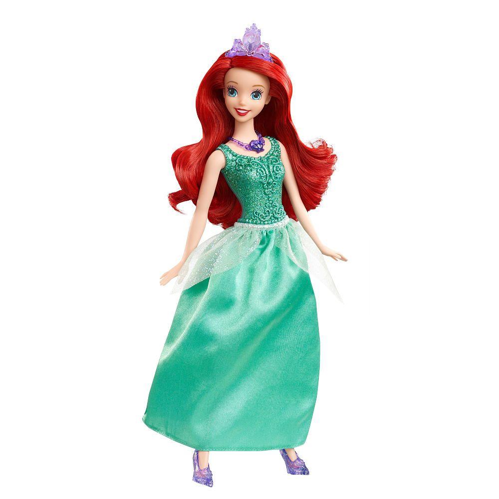 Disney Princess Little Mermaid Sparkling Princess Ariel Doll - NIB ...