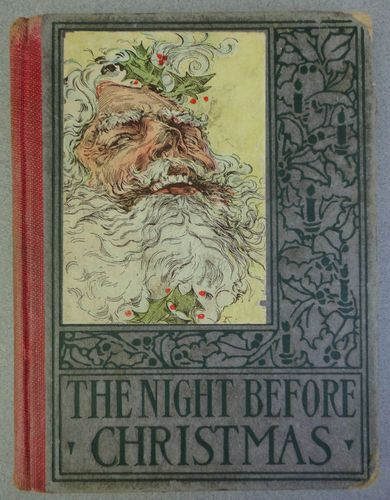 Antique Book The Night Before Christmas 1918 With 28 Colour Illustrations Altemus Hardcove Christmas Books The Night Before Christmas Childrens Christmas Books