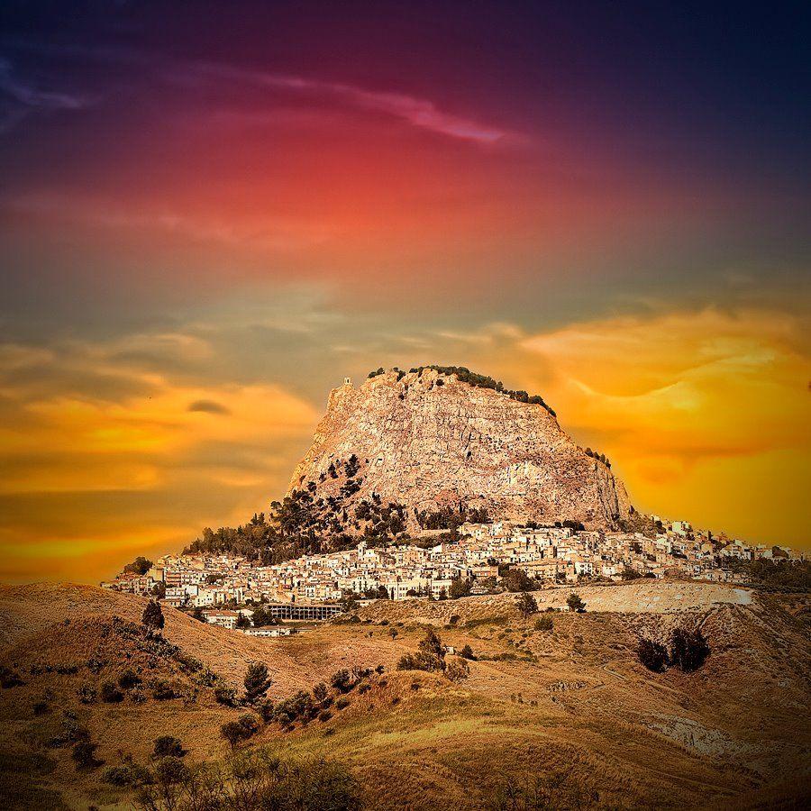 Sutera province of Caltanissetta Sicily Sicily Italy