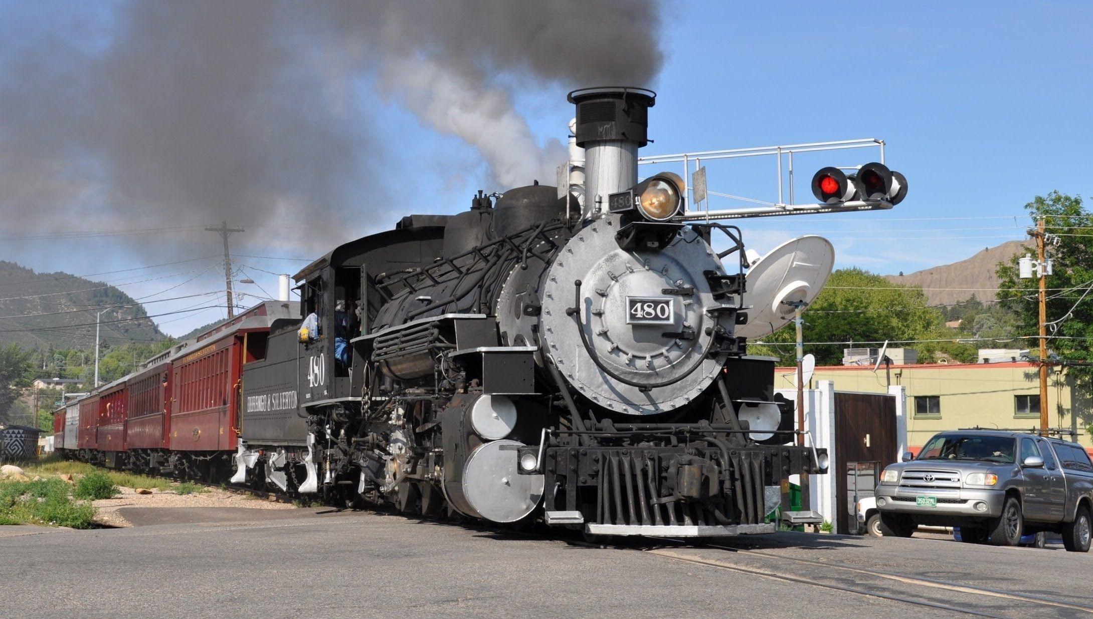 Aboard Steam Trains