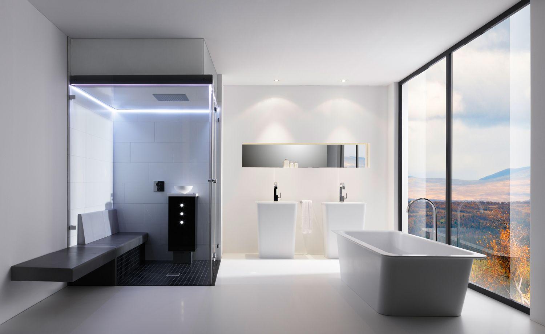 Grosses Badezimmer Ideen Modernes Luxurioses Badezimmer Minimalistische Badgestaltung Moderne Badewannen