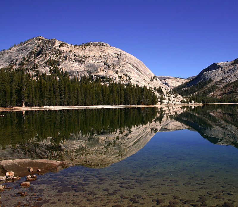 * Lago Tenaya *  Yosemite National Park.
