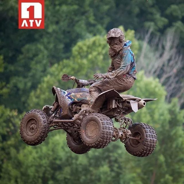 Thomas Brown Number One Atv With Images Atv Motocross Quad