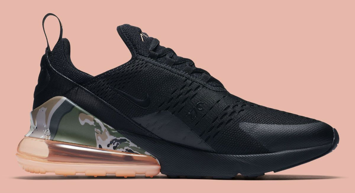 Nike Air Max 270 Sunset Tint Camo Heel Release Date AQ6239
