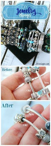 Photo of DIY Jewelry Cleaner  DIY Jewelry Cleaner – Homemade 4 ingredient jewelry cleaner…