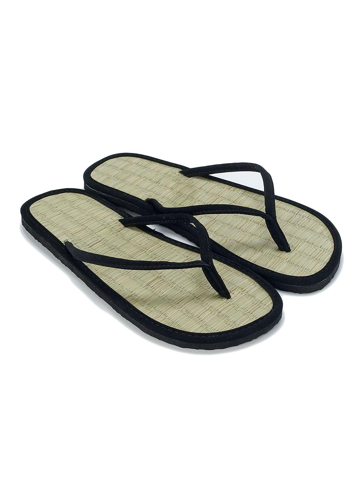 621b0c10f36a1a Plain Seagrass Flip Flops
