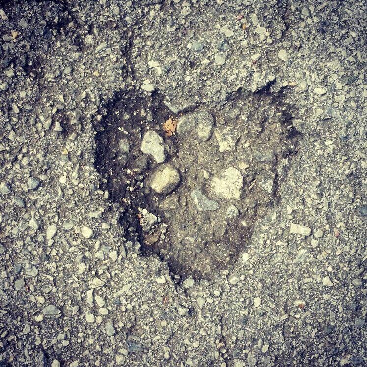 #Herz aus Stein :-)