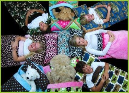 Childrens Sleeping Bag Company Makes Sleepovers Slumber Parties A Big HIT
