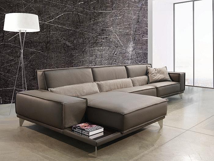 Mokambo Leather Sectional Sofa Gamma International Italy Sofa