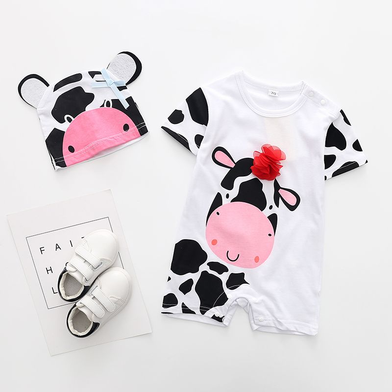 c7ed71831 Victory! Check out my new 2-piece Cute Cow Printing Short-sleeve ...