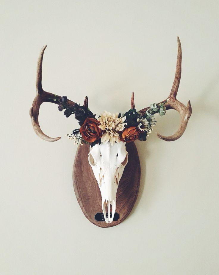 Deer Crown European Mount Home Decor Ideas
