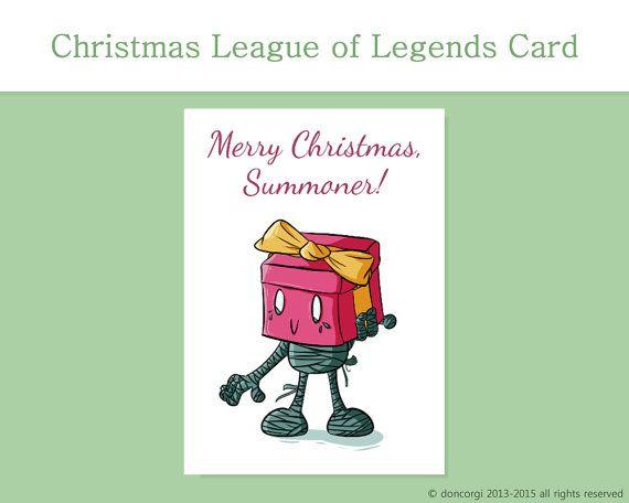 League of Legends Merry Christmas Card Amumu by DonCorgi, Christmas ...