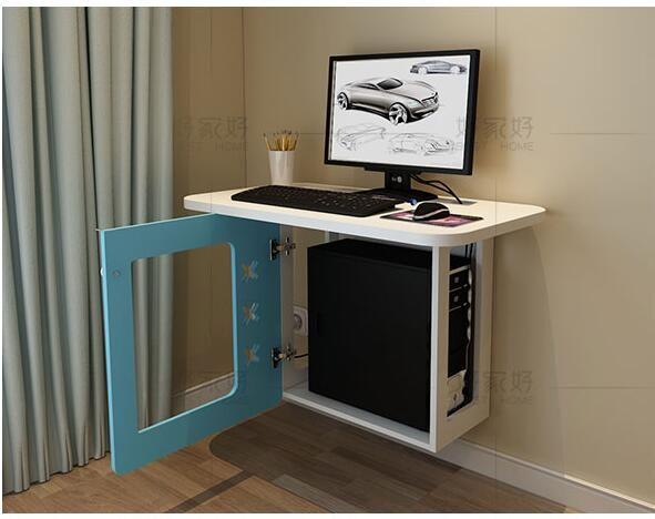 Peque o modelo de familia pared del dormitorio escritorio - Escritorios para espacios reducidos ...
