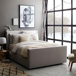 Urban Bed - Heathered Tweed | west elm