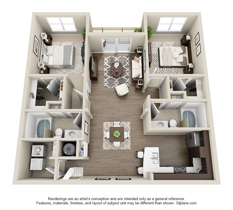 The Davidson Is A 2 Bedroom 2 Is Between 1019 1200sf Sims House Design Sims House Plans Sims House