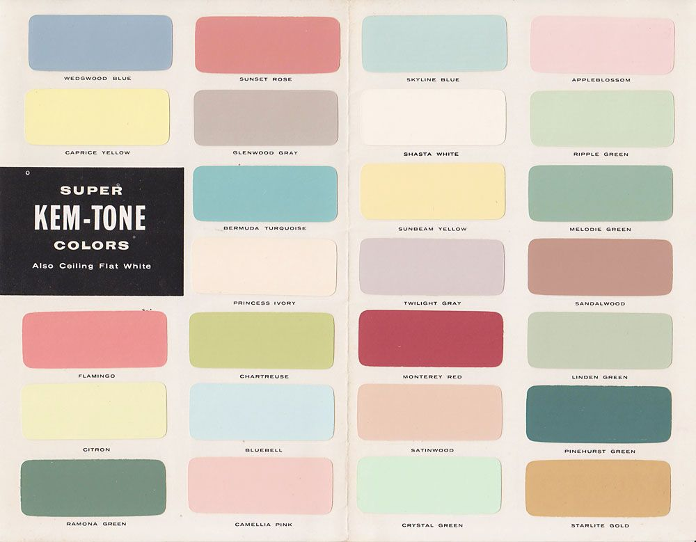 For Our First Collection We Have Chosen Some Bright And Funky Contrasting Colours We Ve Named These Vintage Paint Colors Vintage Colour Palette Vintage Colors