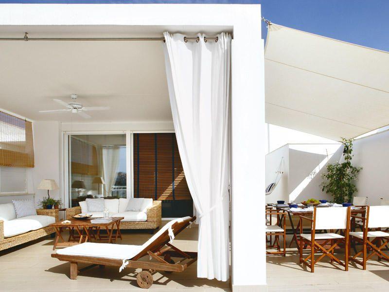 Ambientes de la casa Terrazas, Playa y Decoración