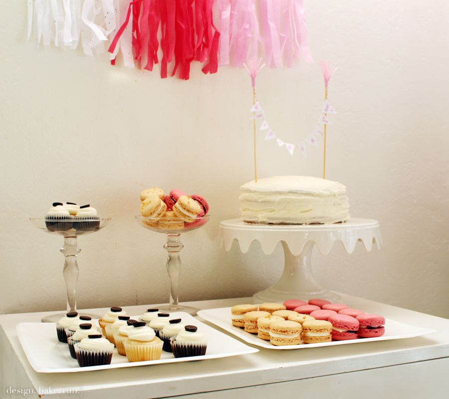 Simple Birthday Dessert Table
