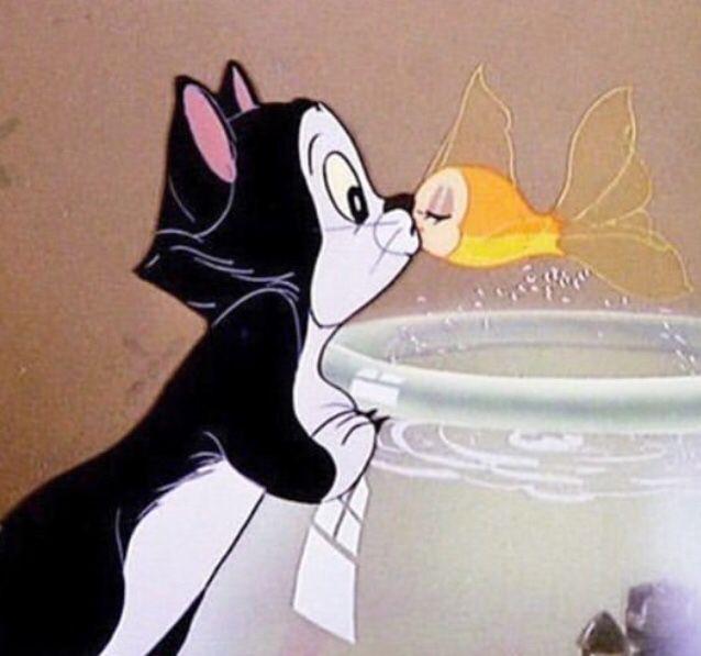 kisses #vintagecartoon