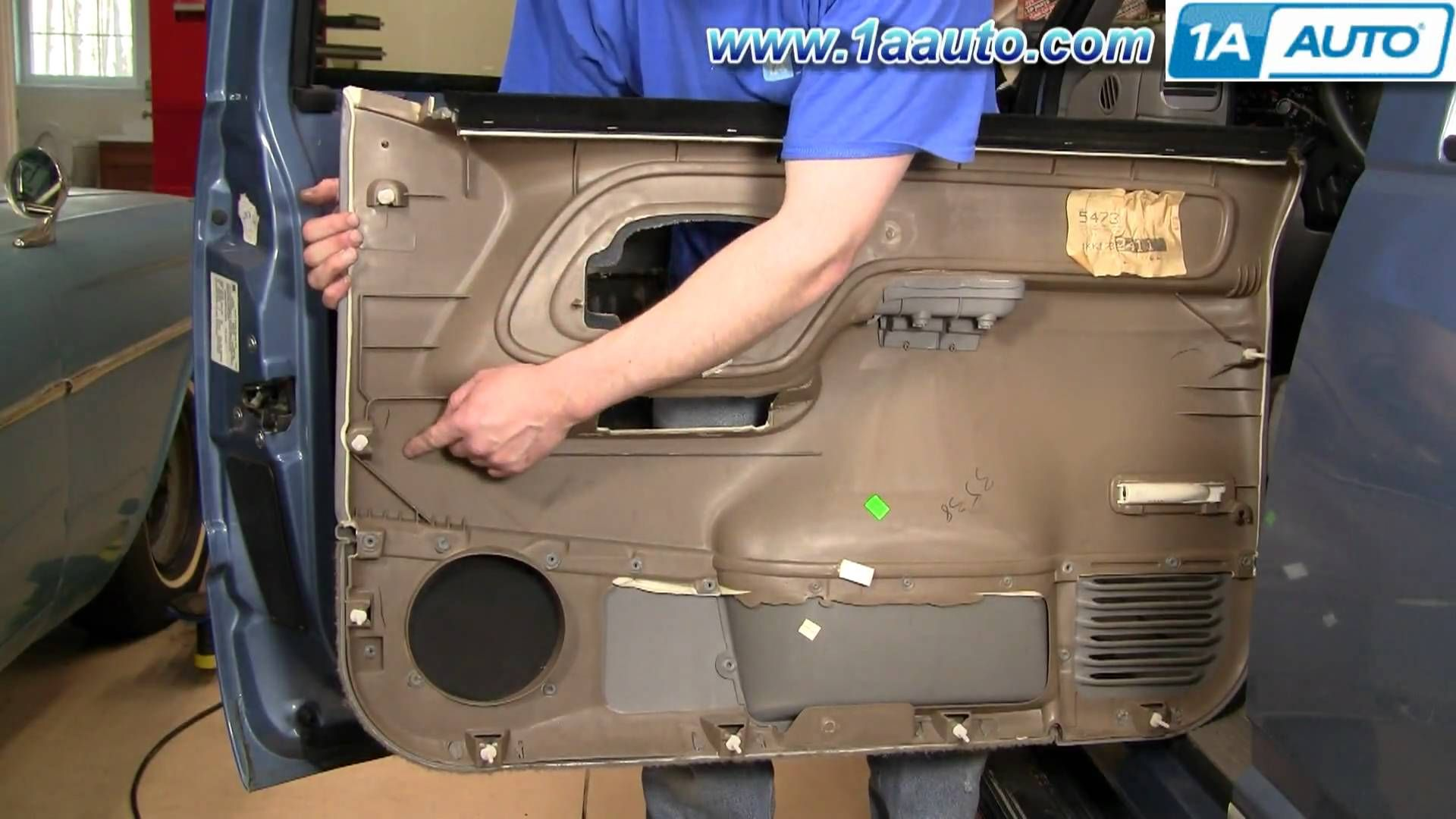 How To Install Replace Door Panel Chevy Gmc Pickup Truck Or Suv 95 98 1aauto Com Barn Door Interior Barn Doors Gmc Pickup Trucks