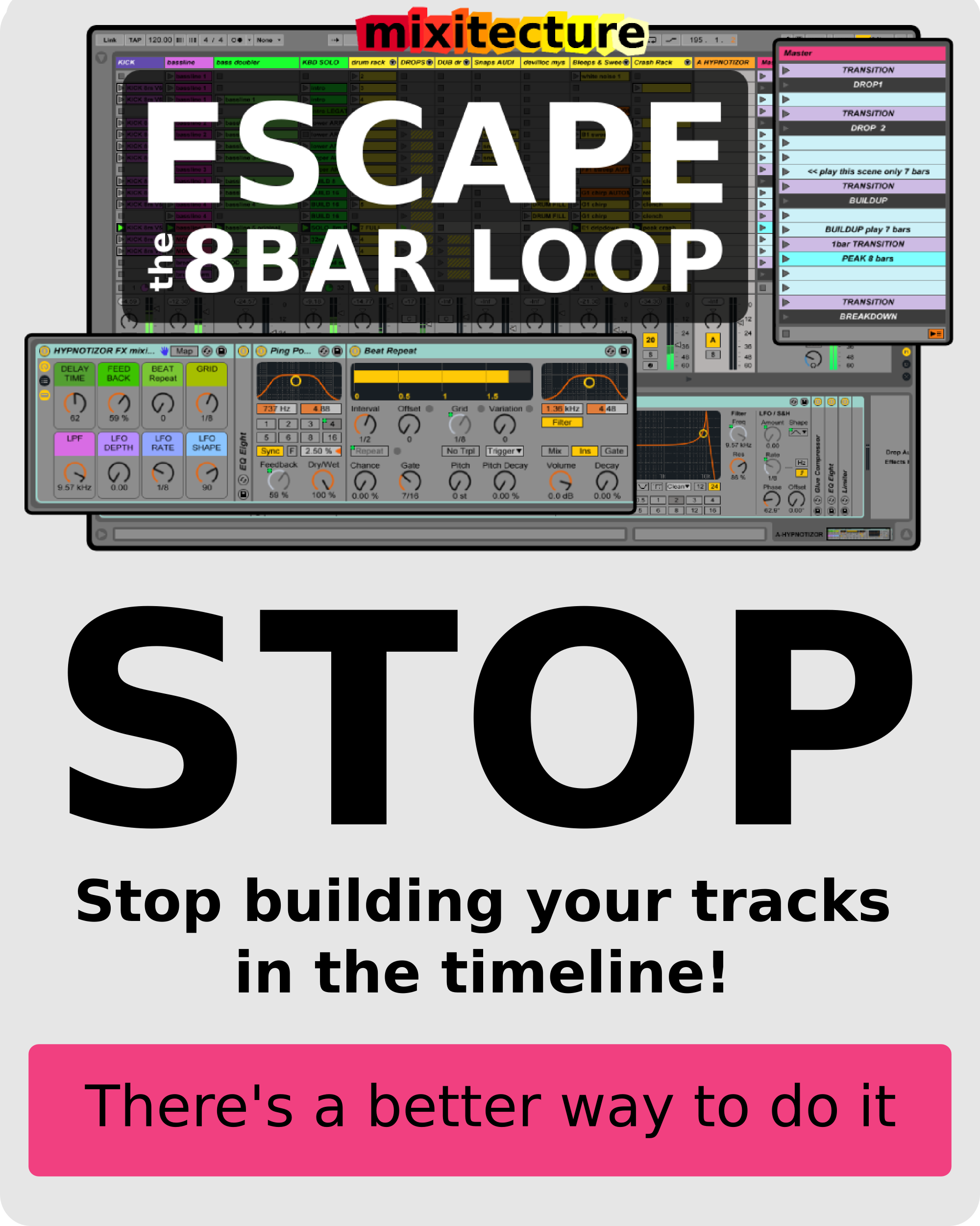 Stuck On Song Form Me Too That S Why I Build Tracks In