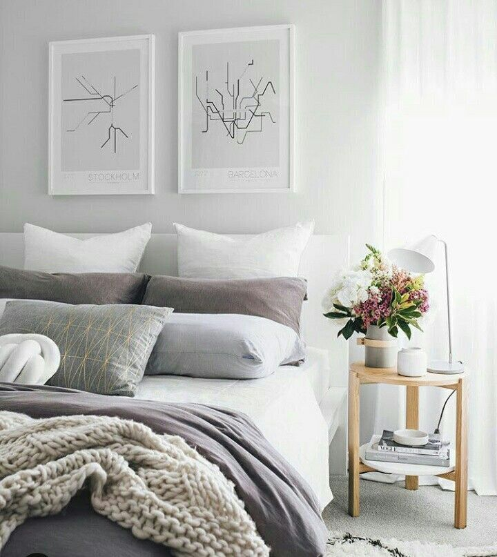 25 Beautiful Bedroom Inspiration #bedroom #homedecor #bed #cozybedroom