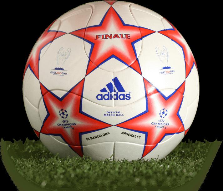 BALON DE LA FINAL CHAMPIONS LEAGUE PARIS 2006  ad73f1c4ca449