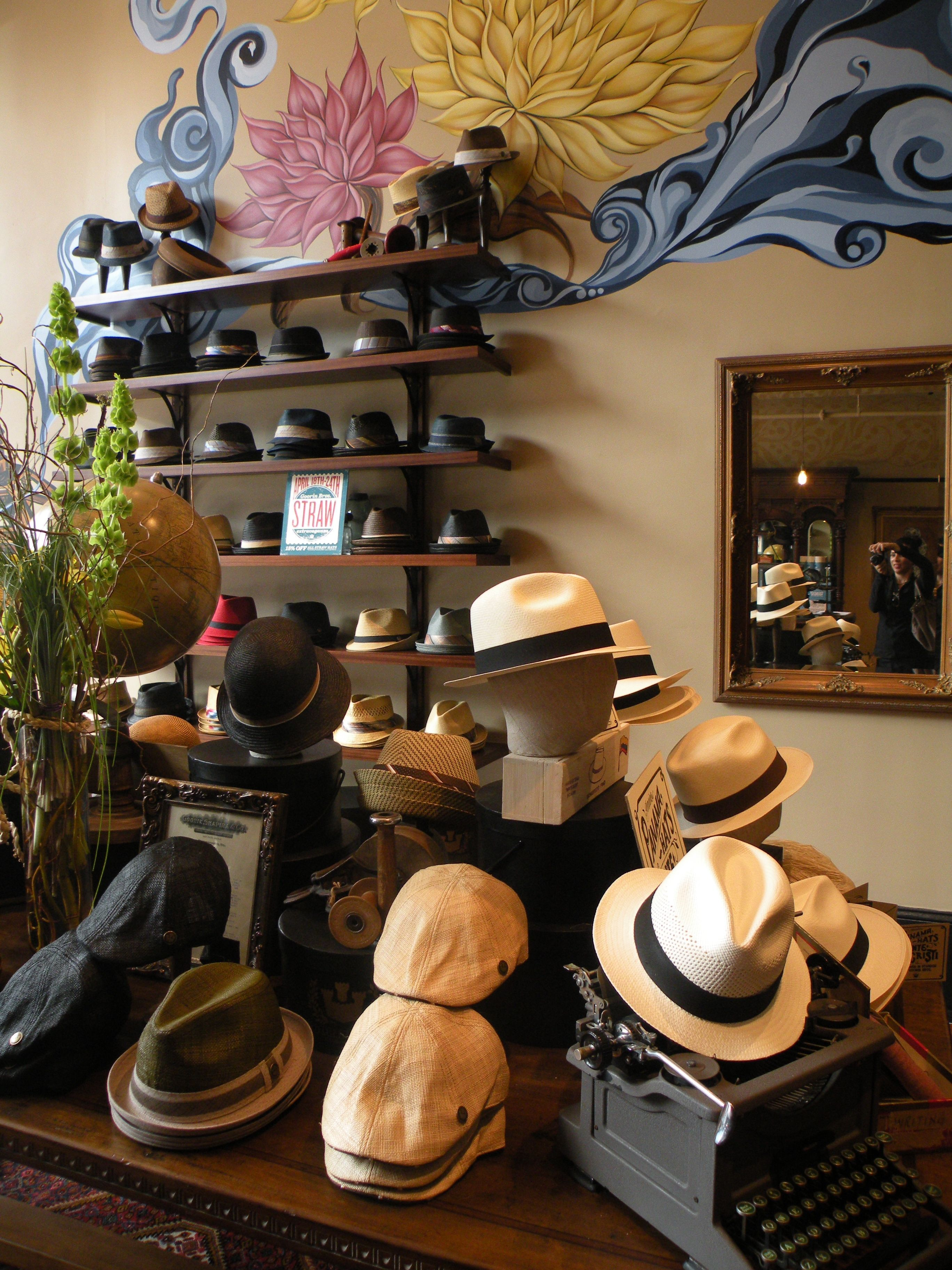 I have this idea of letting the guys choose between a few for How to store hats