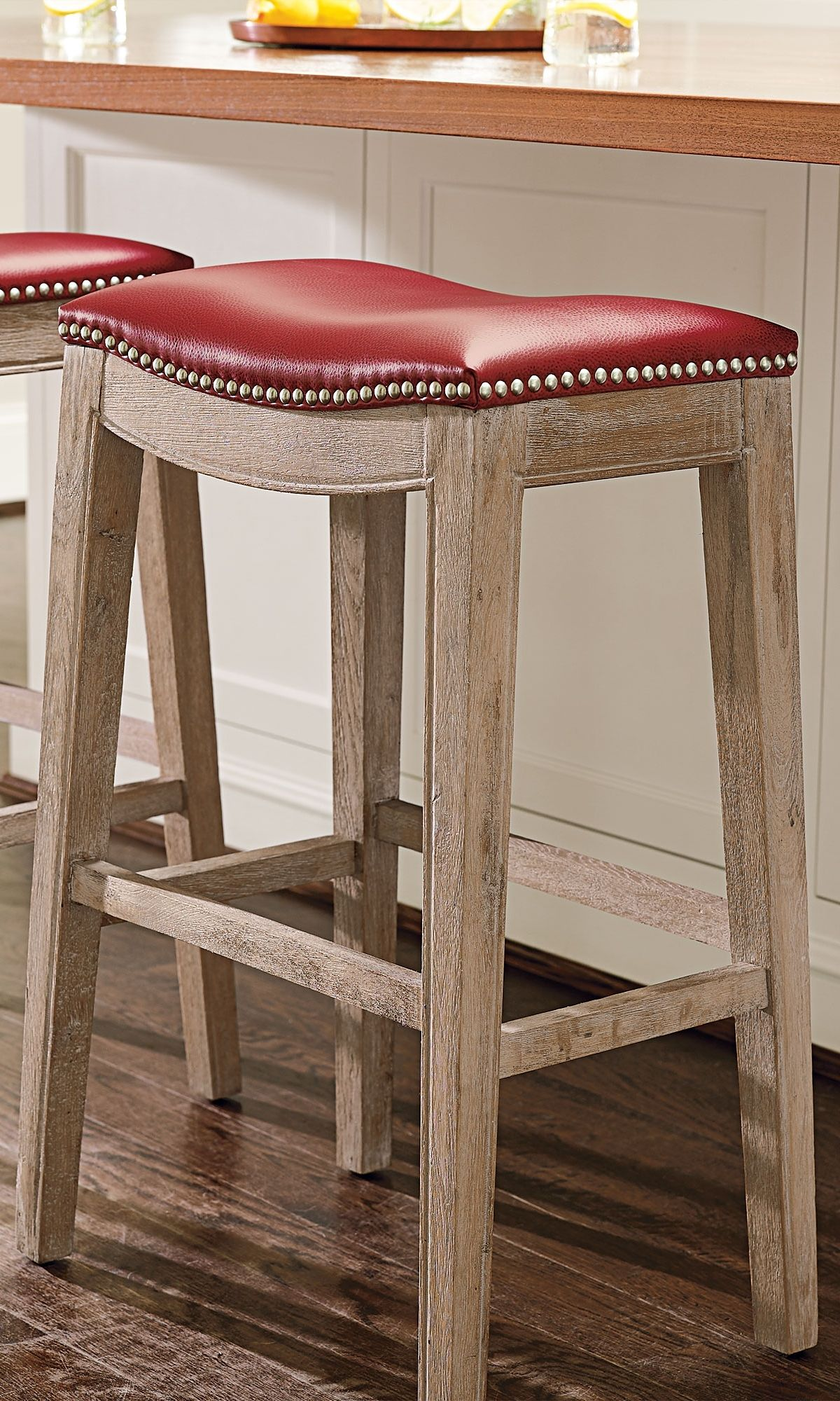 Jennifer Oak Bar Amp Counter Stool Chairs With Character