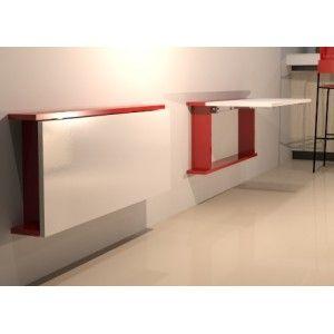 Cubre radiador hecho con la escuadra abatible multitarea - Cubre escritorio ...