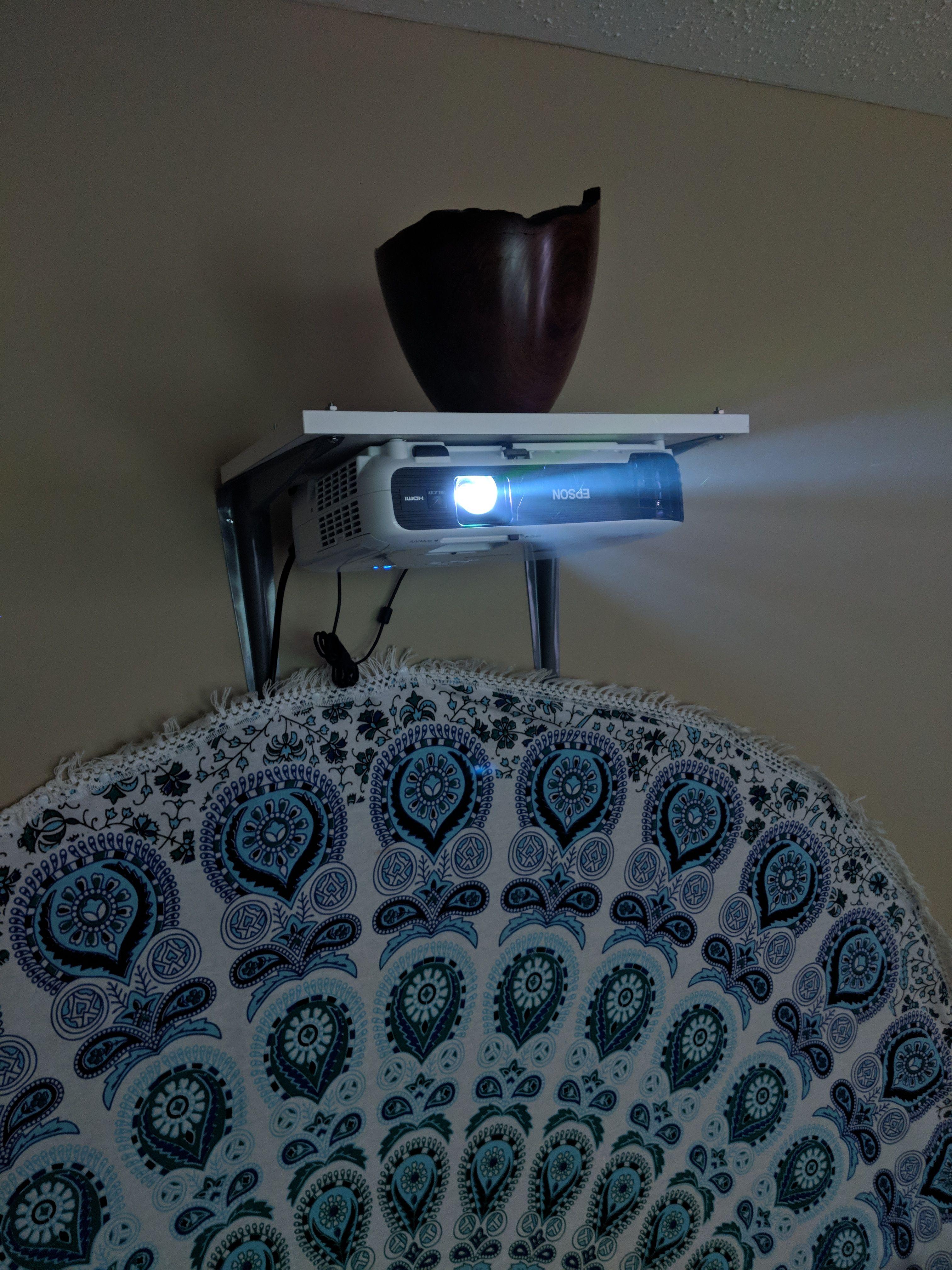 DIY Projector Wall Mount handmade crafts HowTo DIY