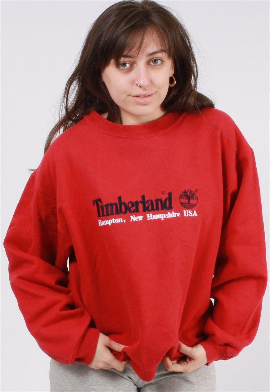 Vintage Timberland Sweatshirt   Miss