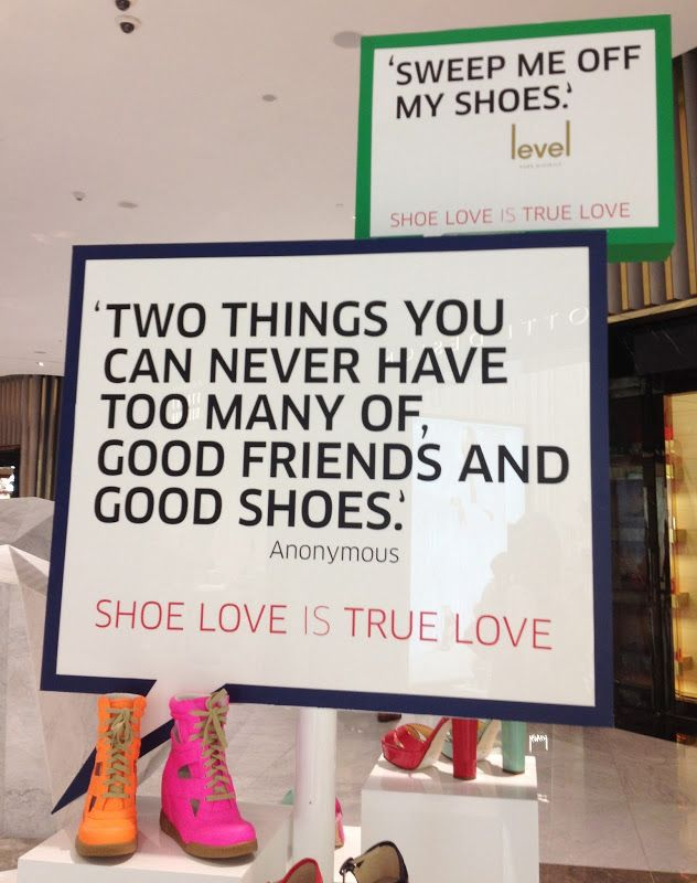 True!! Spotted at  Level Shoe District Dubai Mall
