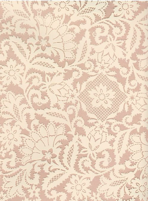 Cream lace on taupe Paper background, Wallpaper