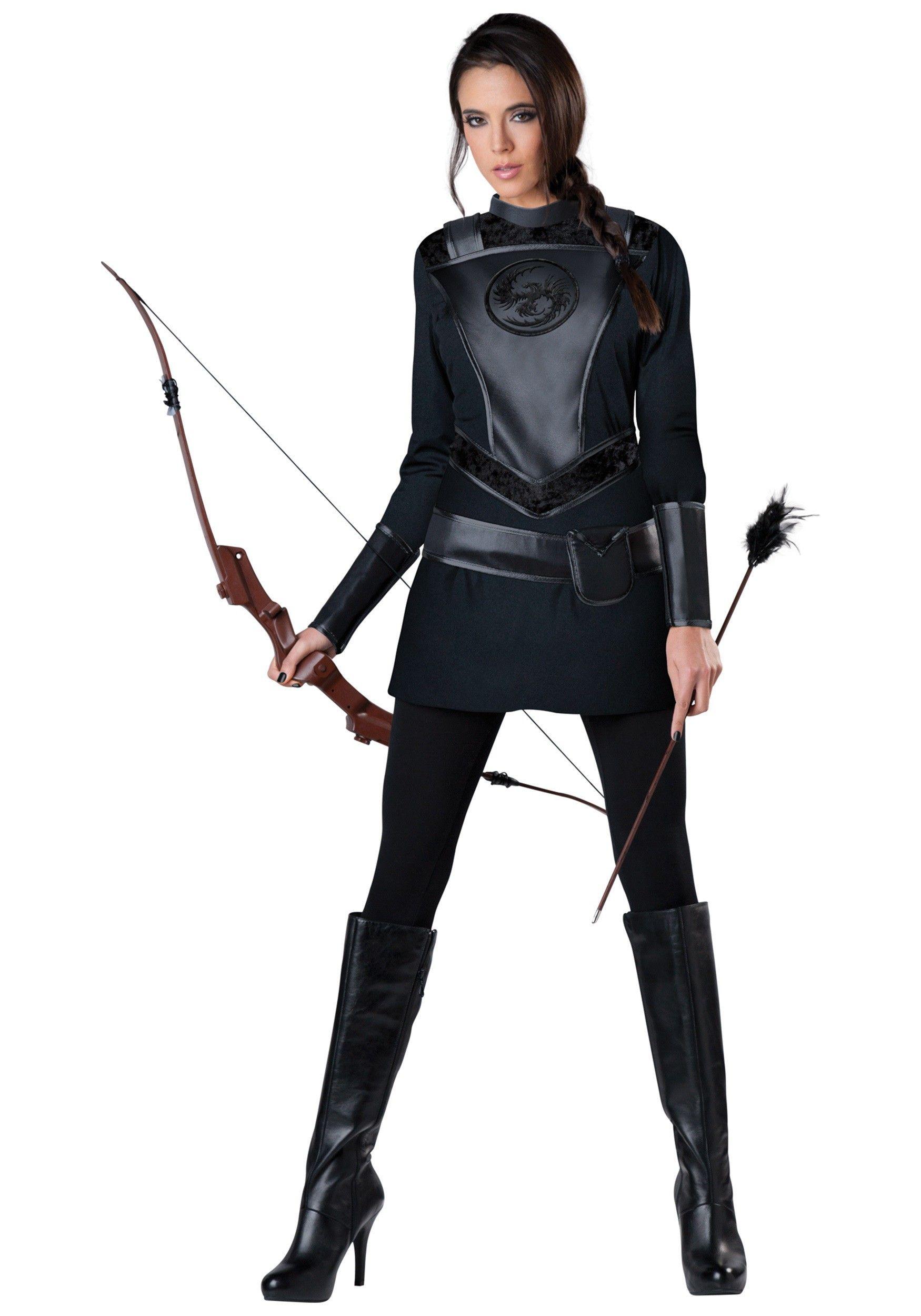 Women\'s Warrior Huntress Costume | Huntress costume, Costumes and ...