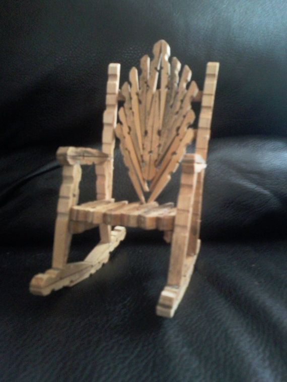 Not very easy to make but have had a lot of compliments on for Small wooden rocking chair for crafts