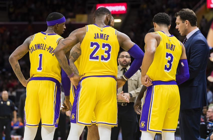 Lakers Rumors Josh Hart Believes Lebron Kcp Were Only Untouchable Players During Anthony Davis Buzz Nba Lakeshow Anthony Davis Lakers Los Angeles Lakers