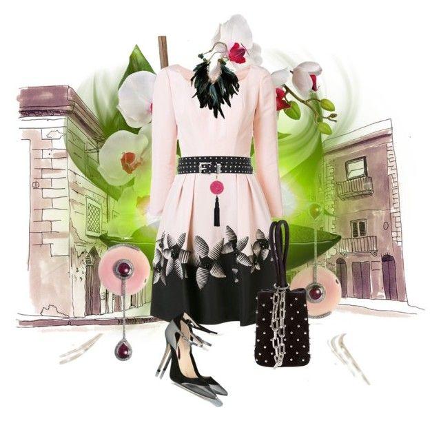 """""""24-09-16   13:09"""" by oligs022 on Polyvore featuring moda, Ara Vartanian, Carolina Herrera, Lalique, Oscar de la Renta y Alexander Wang"""