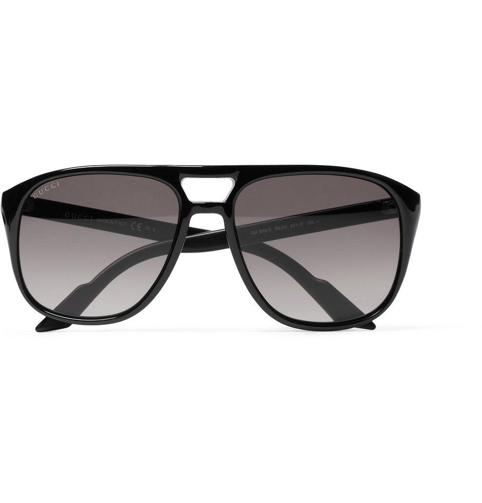 1415d9f8063 Gucci Acetate Aviator Sunglasses  245