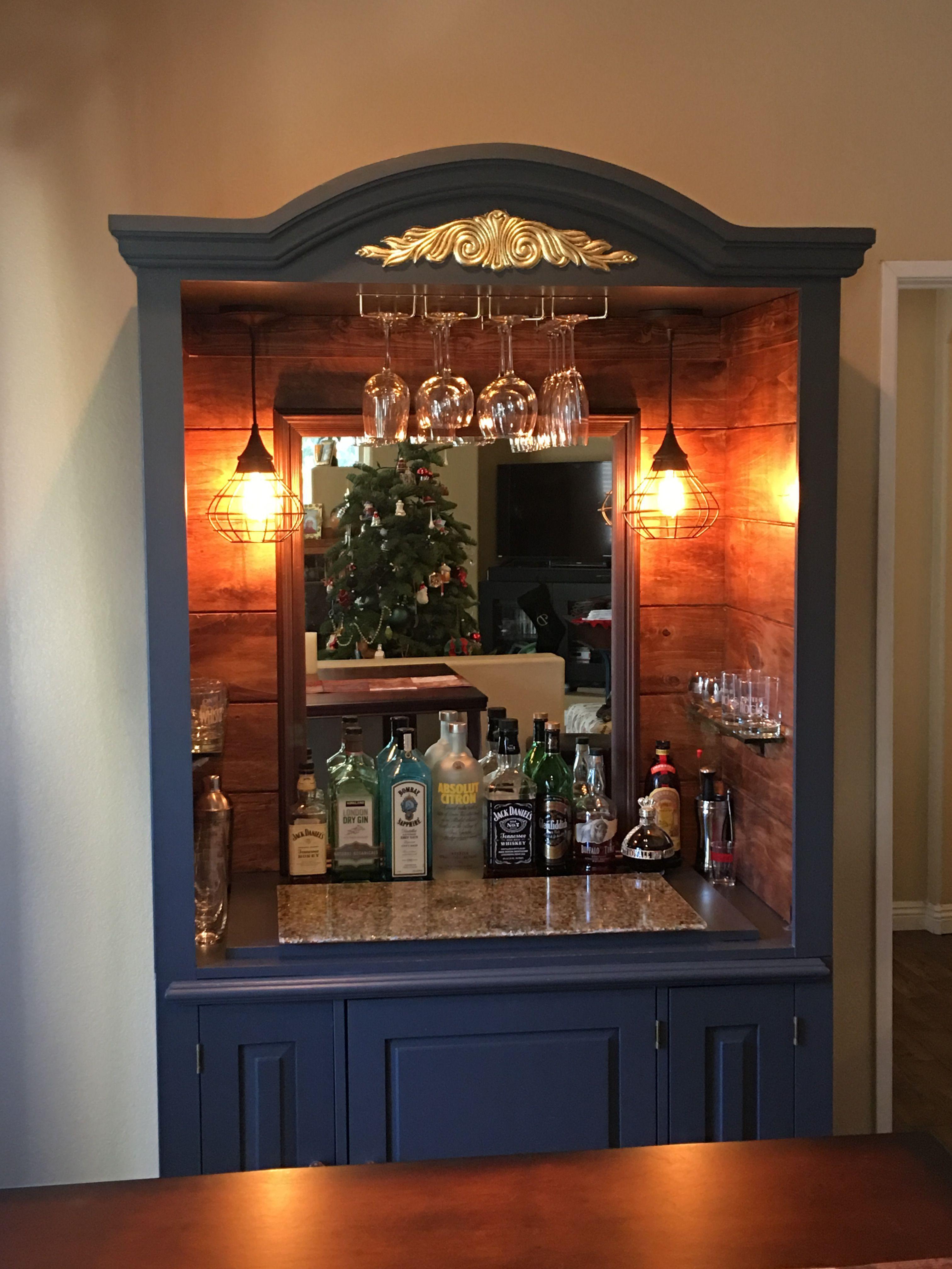 Photo of L.E.D. Lighted Liquor Display – Bar Shelves – Back Bar Displays – Customized Des…