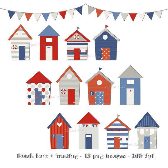 This Item Is Unavailable Etsy Beach Huts Art Art Set Beach Hut