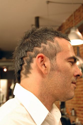 haircut zigzag 01-hair tattoo