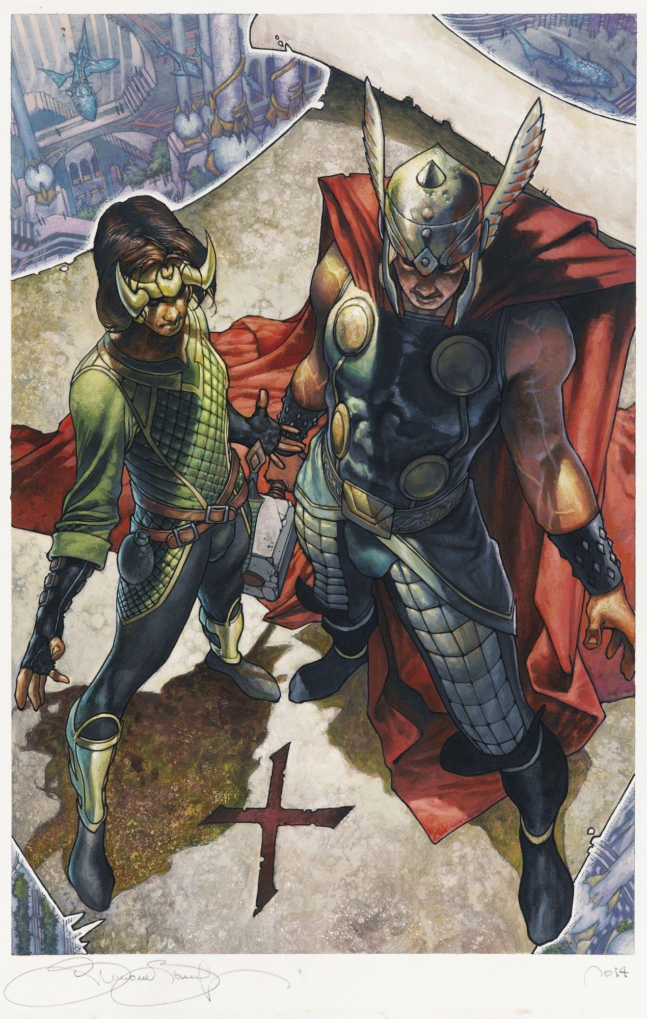 Simone Bianchi (né en 1972) Thor & Loki : the tenth realm   Lot   Sotheby's