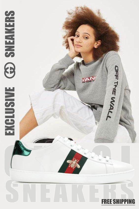 How to get mens size Gucci Ace aus Leder trainers