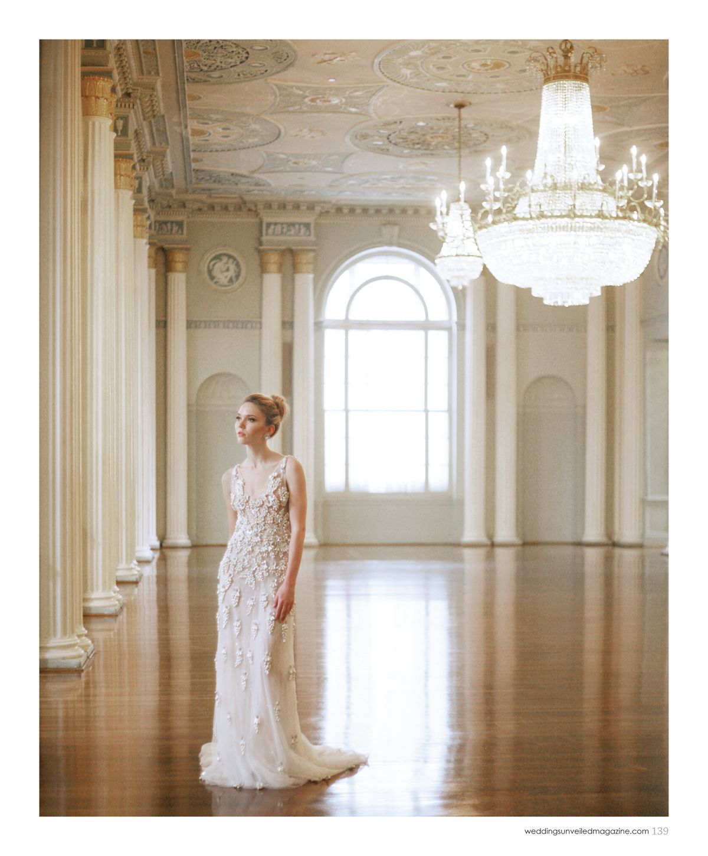 Atlanta wedding dress shops  Beaded wedding dress by Naeem Khan vintage s earrings from
